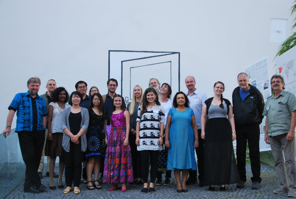"""Participants of Symposium """"Music and Otherness"""""""