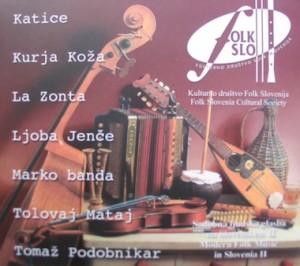 Sodobna ljudska glasba na Slovenskem II