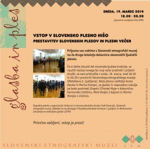 Vstop v slovensko plesno hišo_ 19 marec 2014 v SEM